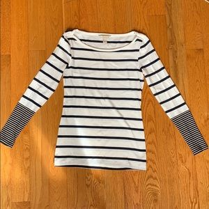 Banana Republic Striped Shirt Size S